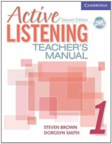Active Listening 1 Teacher's Manual with Audio CD