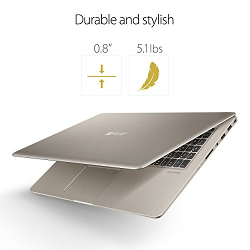 ASUS N580VD-DB74T VivoBook Pro 15 FHD Touchscreen Laptop, Intel Core i7, NVIDIA GeForce Gaming GTX 1050 4GB, 16GB RAM, 512GB SSD, backlit keyboard, 15.6""