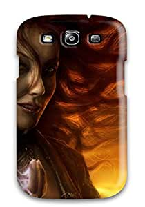 DPatrick Scratch-free Phone Case For Galaxy S3- Retail Packaging - Playing With Lightning