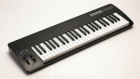 Teclado controlador MIDIPLUS AK490+ semi-contrapesado USB MIDI: Amazon.es: Instrumentos musicales