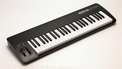 midi controllers midiplus ak490 midi keyboard controller ebay. Black Bedroom Furniture Sets. Home Design Ideas