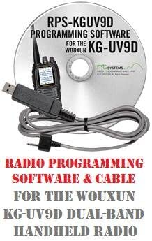 Wouxun KG-UV9D 9D Two-Way Radio Programming Software Cable Kit