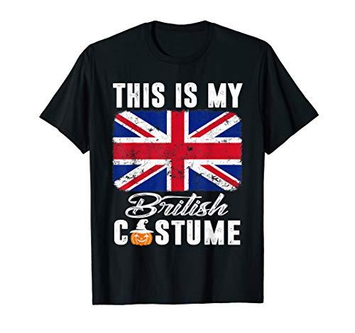 United Kingdom Flag Tshirt This Is My