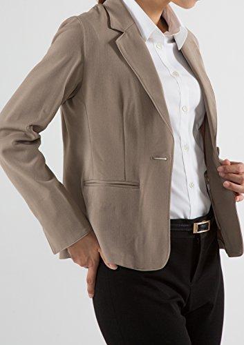 Chaqueta Beige Leonis Favorites Clásico Para Down Button Mujer amp; Shirts wxqvnqRzCt