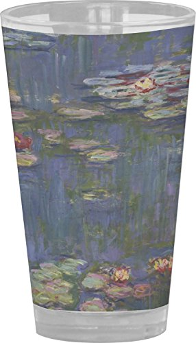 Water Lilies by Claude Monet Drinking/Pint Glass from RNK Shops