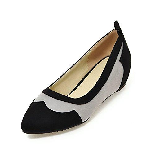 Mayor primavera limpia zapatos/zapatos bajos puntiagudos asakuchi/Color que empareja los zapatos ocasionales A