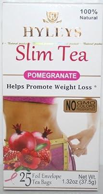 Hyleys Slim Tea Pomegranate 1.32 oz / 25 teabags
