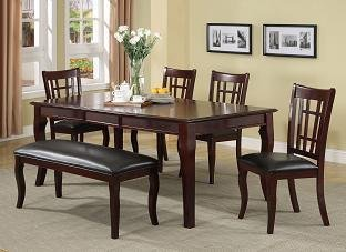 Milton Greens Stars 8838CH Granada Dining Table, 78 by 42 by 30-Inch, Cherry