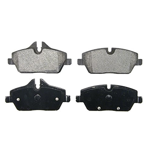 (Wagner QuickStop ZX1308 Semi-Metallic Brake Pads, Front)