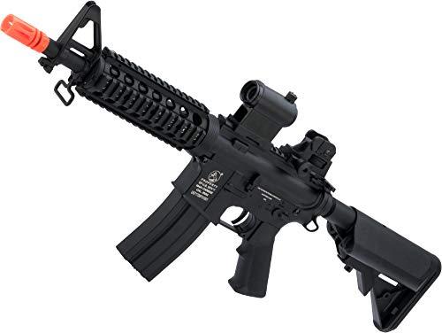 Soft Air COLT M4 CQB Automatic Electric Airsoft Gun, Black