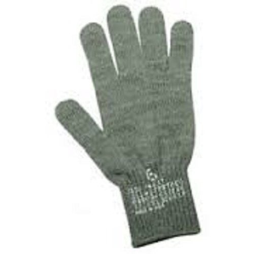 GI Wool Glove Liners - OD (5, Foliage Green) - Wool Military Glove