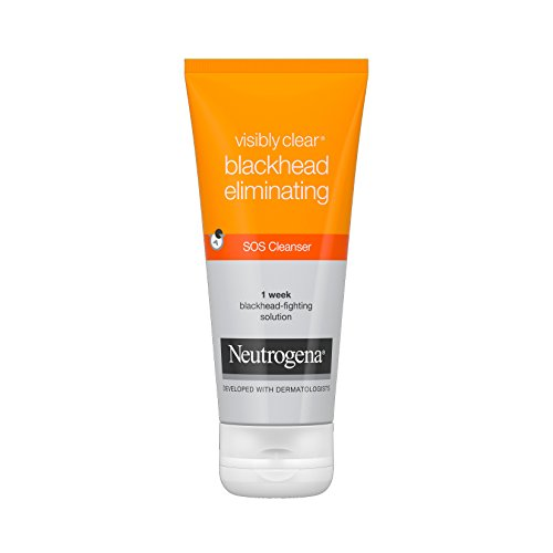 - Neutrogena Visibly Clear Blackhead Eliminating 7 Day Recsue Triple Action Cleanser 100ml (3 Packs)