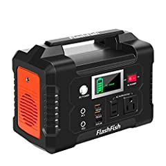 Embrace The Convenience Of Multiple Charging With FlashFish Portable power generation on-the-go!  Multiple Usage Scenario -- where electricity options are limited such as natural disasters such as hurricanes and earthquakes, home/office use, ...