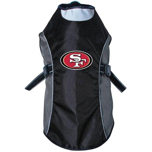 NFLユニセックスNFLハンター反射ペットジャケット ブラック   B019OI39VA