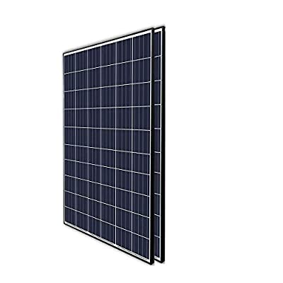 Renogy 2Pcs 270 Watt 24 Volt Solar Panel 540W for Off-Grid On-Grid Large Solar System, Residential Commercial House Cabin Sheds Rooftop, Multi-Panel Solar Arrays