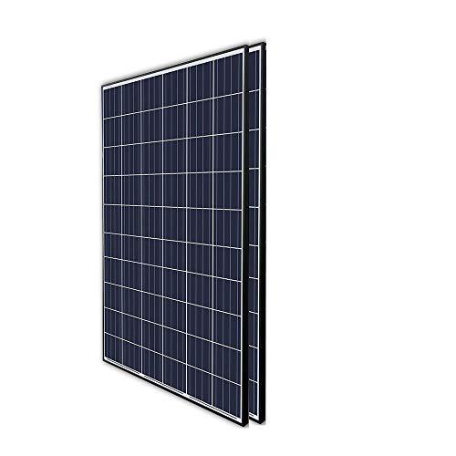 Renogy 2Pcs 300 Watt 24 Volt Monocrystalline Panel 600W Grid Large Solar System Residential Commercial House Cabin Sheds Rooftop, 300W