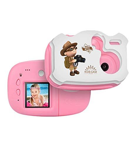 Loneflash Kids Creative DIY Camera, Mini HD 1080P Kids Digital Video Camera Children Birthday Toy Gift +DIY Sticker for Kids Birthday Party Gifts, Fun and Educational from Loneflash