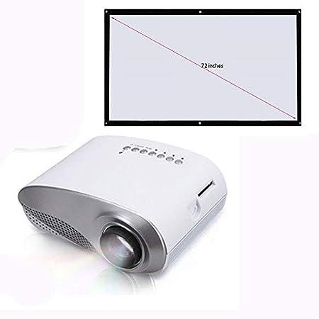 Link Co Proyector de hogar HD Reproductor de películas portátil ...
