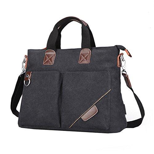 Multi Business Backpack Laidaye Men's Leisure Shoulder Bag Black Travel purpose Messenger pfx7xYqwP