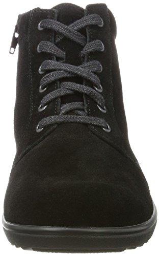 Hilde h WoMen Ganter Black Boots Schwarz 01000 wOR5q