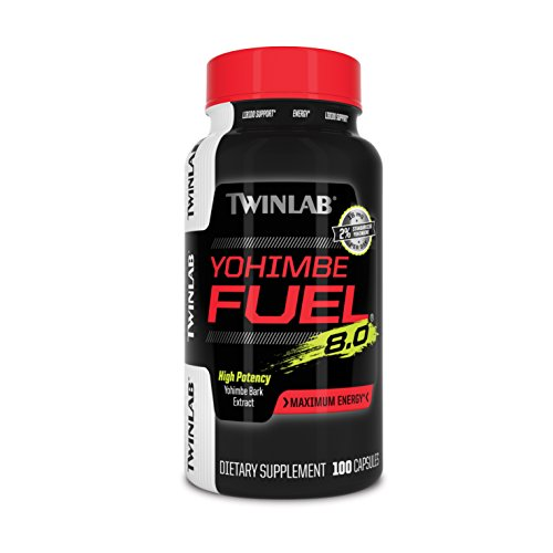 Twinlab Twl Yohimbe Fuel Diet Supplement Capsules, 100 Count