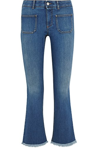 Stella McCartney Cropped Kickflare Jeans 25 (Stella Cropped Jeans)