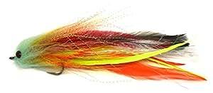 "6"" Trout Salmon Steelhead Pike Fly Fishing Streamer Flies NEW (Yellow)"