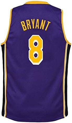 Kobe Bryant # 8 Camiseta De Baloncesto De Los Hombres De Los ...