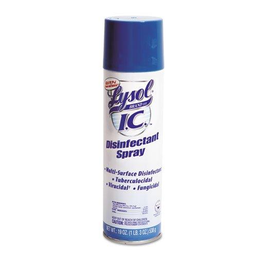 Professional Lysol IC Disinfectant Spray w/Control Flo Valve, 228oz (12X19oz) by Lysol