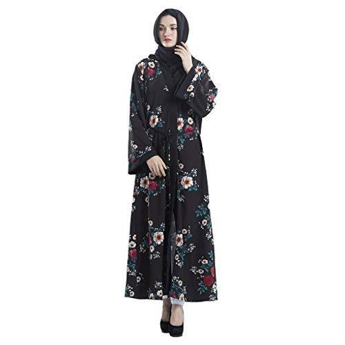 Vestito Semplice Saudita Lunga Multicolore Floreale polpqed Estate  Musulmano Dress Stampato Casuale Etnica Abito Manica Lungo Donna Islamico  ym8nOPvwN0 a2874c3c6d1