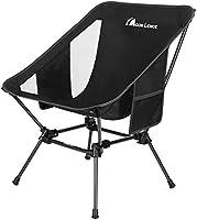 Moon Lence アウトドアチェア より安定 キャンプ椅子 軽量 折りたたみ コンパクト ハイキング…