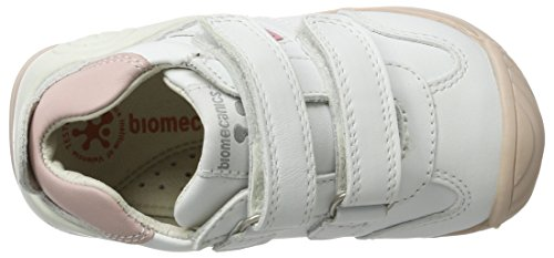 Biomecanics Baby Mädchen 151157 Hausschuhe Weiß (Blanco y Rosa 151157)