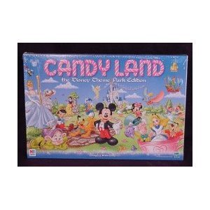 (Disney Parks Exclusive Candyland Theme Park Edition Game)