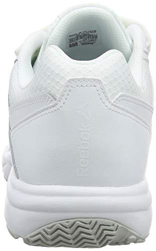 3 Work N Acier Acier Reebok Blanches blanc Blanc Unisexes 0 Baskets Cushion Kc Adultes twHfqfaZ