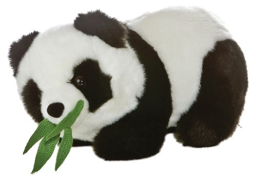 Amazon Com Aurora Plush 9 5 Bamboo Panda Toys Games