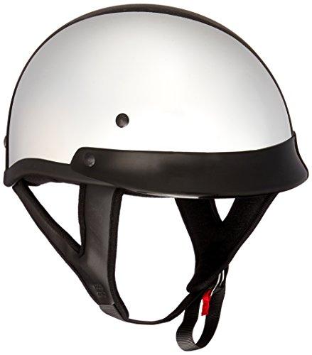 Skid Lid Traditional Helmet (Chrome, Large)