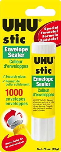 Staedtler UHU Glue Stic Envelope Sealer (9U99701) (Uhu Large Glue Sticks)