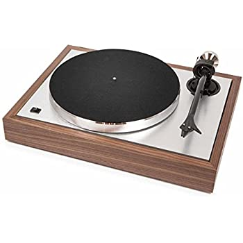"Pro-Ject The Classic Sub-Chassis Turntable with 9"" Carbon/Aluminum Sandwich Tonearm, Walnut"