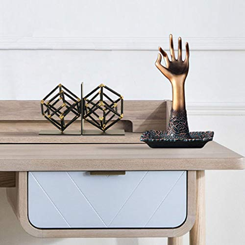 Ornaments for Home-Resin Hand Jewelry Jewelry Storage Tray Bedroom Study Living Room Porch Decorations Desktop Ornaments 2717 (Color : B) by Jinxin-Home Décor (Image #1)