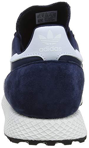 Forest Grove maruni Bleu negbás 000 Fitness aeroaz Homme Chaussures De Adidas UxH5Bwx