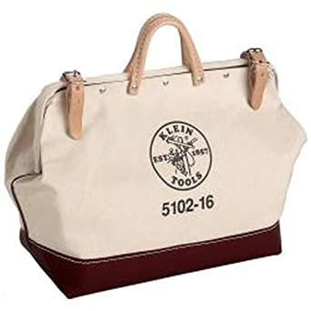 "Klein Tools 5102-16 16"" Canvas Tool Bag"