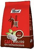 Toscaf Café Natural en Monodosis Blandas - 32 unidades