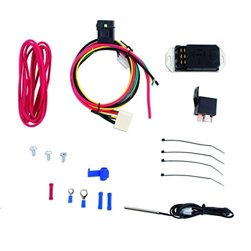 - Mishimoto MMFAN-CNTL-UPROBE Black Adjustable Fan Controller Kit
