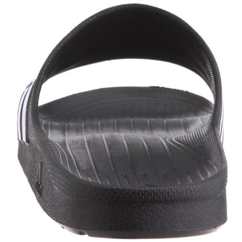 0 Adidas Slide amp; Adulte Noir Piscine black Duramo Mixte white Chaussures De Plage black rOqr1Hw