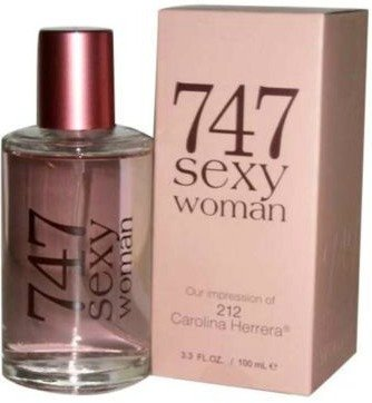 3fd9604d58 Amazon.com   747 Sexy Woman Perfume Our Impression of 212 Carolina Herrera  Womens Eau De Parfum By Preferred Fragrance   Size 3.3 Ounce   100 Ml    Beauty