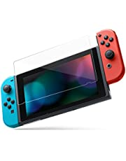 Hestia Goods Premium Tempered Glass Screen Protector, with [ Double Defense ] Technology for Nintendo Switch