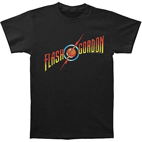 flash-gordon-logo-mens-black-t-shirt