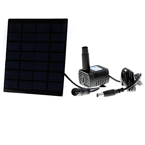 Anself Garden Plants Fountain Solar powered product image