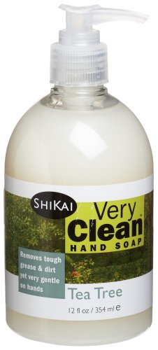 (Shikai Very Clean Tea Tree Liquid Hand Soap, 12-Ounce Bottle (Pack of 4))