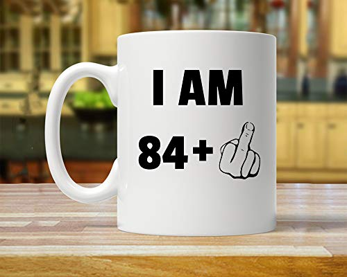 Funny Inspirational Mugs Cup 11oz -85th Birthday Party, 85th Gift Ideas, 85th Birthday Gift, Gift For Eighty Five Year Old, 85th Birthday Mug, Funny 85 Year Old, 85 Years ()
